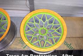 Trans Am Restoration after