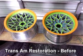 Trans Am Restoration before