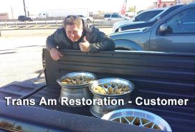 Trans Am Restoration customer