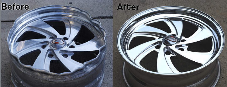 Bent Wheel Repair Houston We Fix Rims Houston