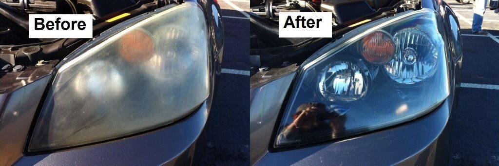 Headlight Restoration Houston